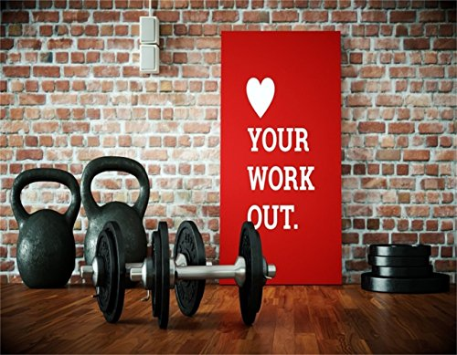 AOFOTO 9x7ft Gym Dumbbell Backdrop Interior Sport Fitness Photography Background Muscle Training Wellness Physique Shaping Physical Exercise Photo Studio Props Man Woman Artistic Portrait Wallpaper