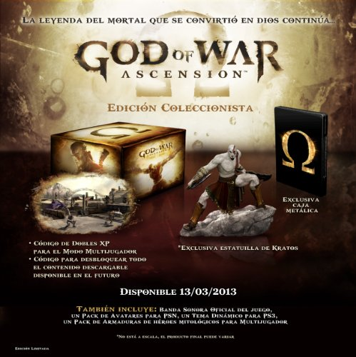 God Of War Ascension Collector's Edition ps3