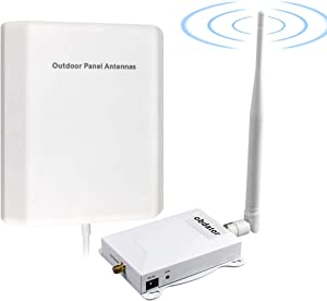 AT&T Signal Booster 4G LTE 5G Cell Phone Signal Booster Band 12/17 Cell Phone Booster ATT T-Mobile US Cellular Mobile Signal Booster ATT Cell Extenders Signal Amplifier Boost Voice & Data