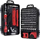 55% off Prime Deals 115 in 1 Interchangeble Multipurpose Mini Screwdriver Set Magnetic Slot Wrench Bits Repair Tools Kit Set Combination Screwdriver Set for Home Appliance,Laptop,Mobile,Computer