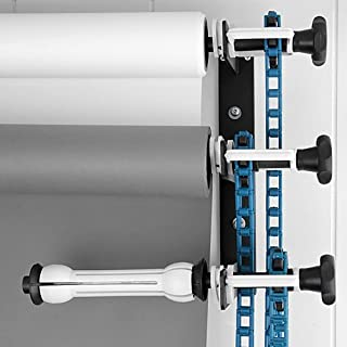 Fotodiox Triple-Roller Roll Paper Drive Set with Wall Mount Support for Mounting 3X Paper Background Roll