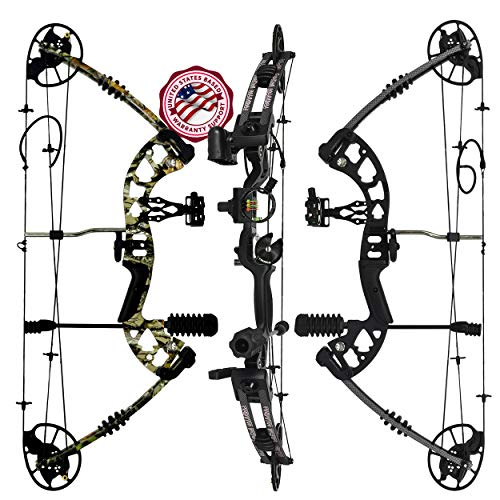 Predator Archery Raptor Compound Hunting Bow Kit: Limbs Made in USA