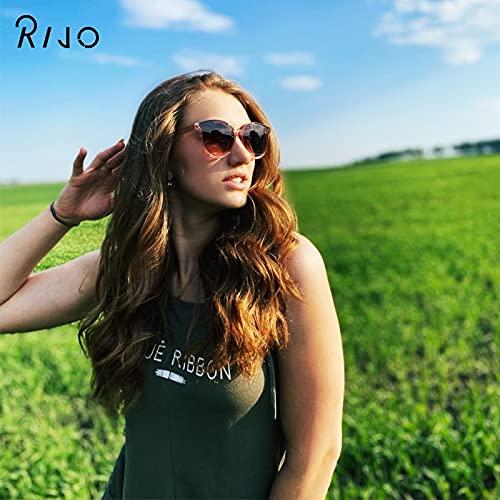 Gafas De Sol Gafas De Sol De Moda para Mujer Gafas De Metal Retro Espejo Gafas De Sol Retro Clásicas Uv400 C3