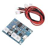 Module de Carte d'Amplificateur Bluetooth Mini Durable 15Wx2, Module de Circuit Numérique à Haut-parleur Stéréo avec Sortie à Double Canal