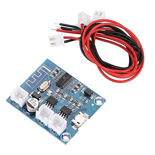 15Wx2 Mini Durable Tablero Amplificador de Bluetooth 4.2 Circuito de Altavoz Estéreo Módulo Digital con Salida de Canal Dual