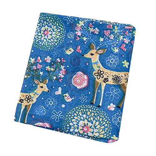 Paño de Fondo de servilleta Mantel de algodón Accesorios para Fotos Decoración de habitación HYD88-blue Deer, China