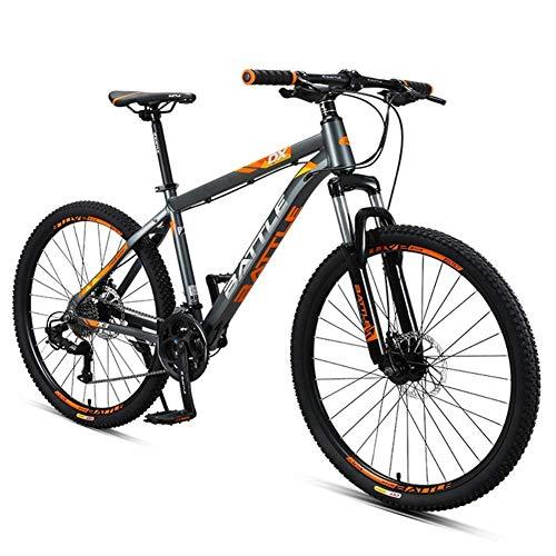Biciclette da montagna per adulti da 26 pollici, in mountain bike a 27 velocità con freno a doppio disco, struttura in alluminio Sospensione frontale Tutte le biciclette da montagna del terreno peng