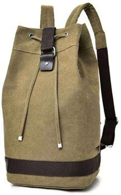 Bucket Backpack Canvas Outdoor Travel Mountaineering Multifunction Bag