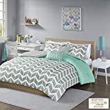 Intelligent Design Nadia Comforter Set, Full/Queen, Teal
