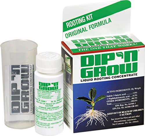 DIP N Grow DG00201 Liquid Hormone Concentrate Hydroponic Rooting Solution, 2-Ounce