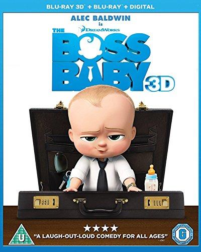 The Boss Baby [Blu-ray 3D + Blu-ray + Digital HD] [2017]
