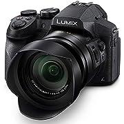 PANASONIC Lumix FZ300 Long Zoom Digital Camera features 12.1 Megapixel, 1/2.3-inch Sensor, 4K Video, WiFi, Splash & Dustproof Camera Body, Leica DC 24X F2.8 Zoom Lens - DMC-FZ300K - (Black) USA