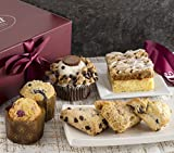 Gourmet Pastry Gift Basket of Foods-Includes Raspberry Crumb Cake. Rees's Cupcake, Muffins, and...