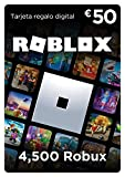 Tarjeta regalo de Roblox - 4,500 Robux ordenador, móvil, ta