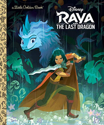 Raya and the Last Dragon Little Golden Book (Disney Raya and the Last Dragon)