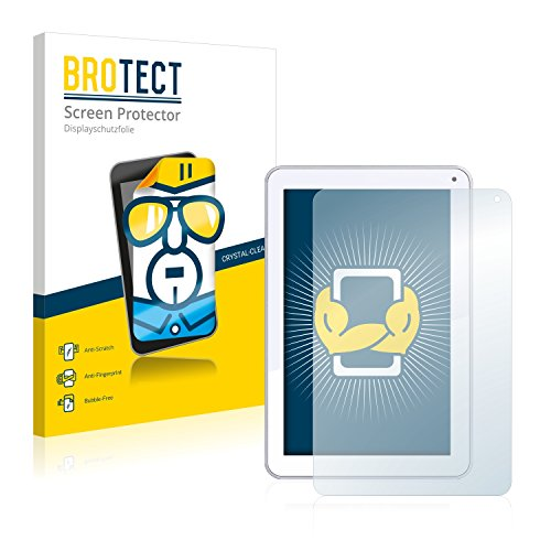 BROTECT Schutzfolie kompatibel mit Odys Neo Quad 10 (2 Stück) klare Bildschirmschutz-Folie