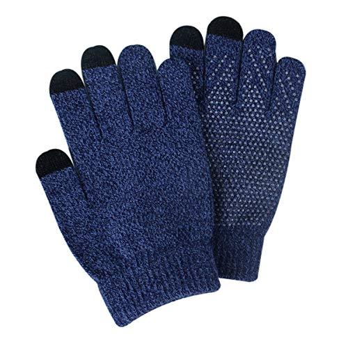ZN-Home-Gloves Hiver Courir pour Hommes Écran Tactile Gants Léger Chaud Vélo Coupe-Vent Thermal Plus Velvet Épaississement Gants Randonnée Conduite Vélo