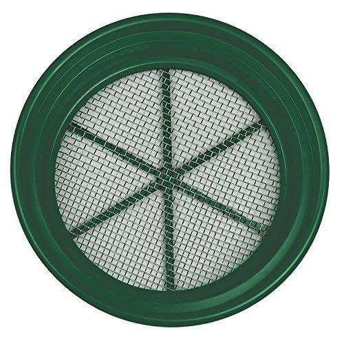 "1/4"" Classifier Sifting Pan Gold Panning Fits 5 Gallon Bucket Mesh Screen New"