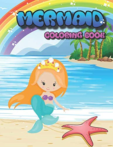 Mermaid Coloring Book: Kids Coloring Books for Girls