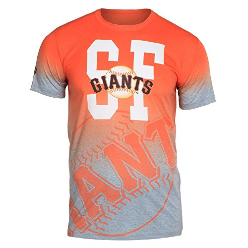 San Francisco Giants Gray Gradient Tee Large