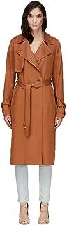 Nousha Straight Fit Maxi Length Trench Coat