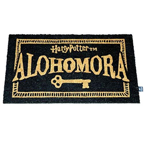 BricoLoco. Felpudo Original Alohomora Harry Potter. Felpudo de Coco y PVC.