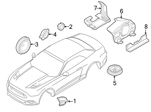 Why Should You Buy Ford Oem Speaker Fr3z18808d Image 5