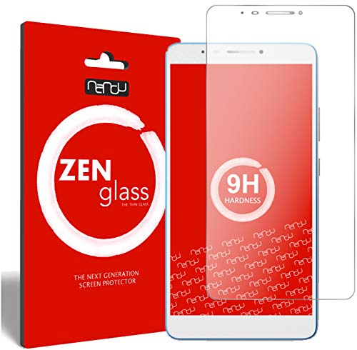 nandu I ZenGlass Flexible Glass Film compatible with Lenovo Tab 3 7 Plus I Screen Protector 9H