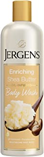 Jergens Enriching Shea Butter Body Wash, Light, Fresh Scent, 22 Fl Oz