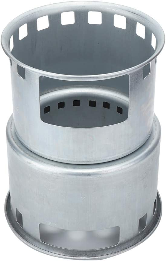 SALUTUY Wood Beauty products Now on sale Burning Stove De 6.3x6.3x8.3in Camping