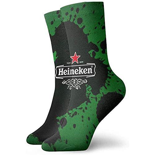 chongha Hei-Ne-Ken S-tain grappige casual sokken zacht voor mannen vrouwen