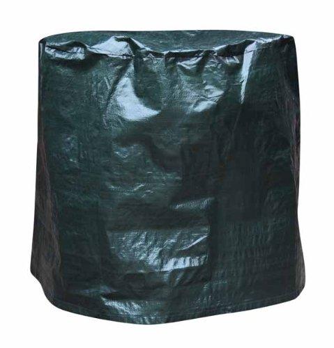 Gardeco Cover-FB50, Abdeckung für Feuerschale, bis 50cm Durchmesser, grün