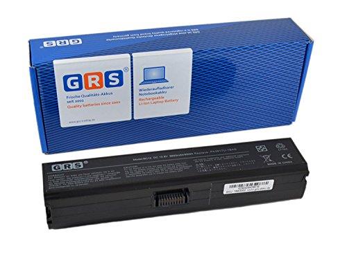 GRS Batería con 8800mAh para Toshiba Satellite L770D, L750, L755, L735, sustituye a: PA3816U-1BRS, PA3817U-1BRS, PA3818U-1BRS, PA3819U-1BRS, PABAS227, PABAS228, PABAS229, PABAS230