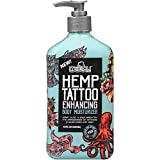 Malibu Tan Hemp Tattoo Enhancing Body Moisturizer, 18 fl. oz. (Pack of 2)