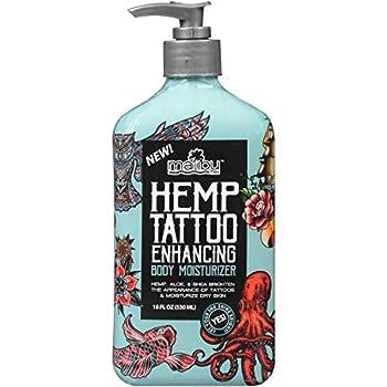 Malibu Tan Hemp Tattoo Enhancing Body Moisturizer 18 fl oz  Pack of 2