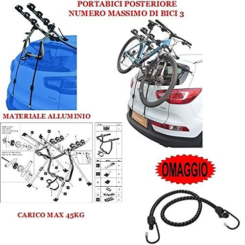 Compatible con Seat Alhambra (Rails) 5p (2010->) Rejilla para Coche DE Bicicleta...