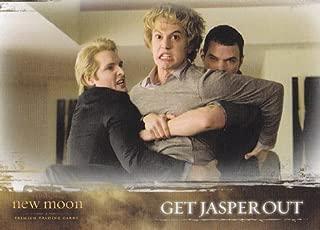 Twilight - New Moon - Single Cards - NON-SPORTS 2009 Neca New Moon Single Trading Card #35 Jasper Hale (Jackson Rathbone)