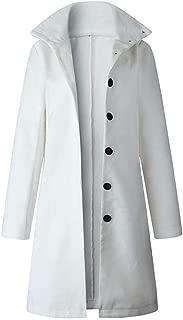 LUKEEXIN Outerwear Overcoat Autumn Jacket Casual Women Long Woolen Coat Single Breasted Slim Type Female Winter Wool Coats