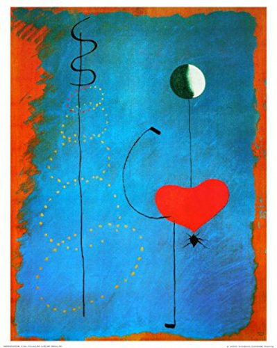 1art1 Joan Miró - Bailarina, 1925 Póster Impresión Artística (50 x 40cm)