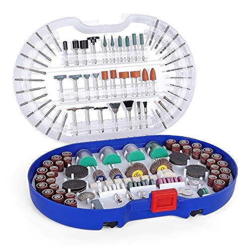 WORKPRO Multifunktionswerkzeug Zubehör Set Drehwerkzeug 276 tlg. Mehrzweck Zubehörset zum Schneiden, Schleifen, Polieren, Bohren und Gravieren