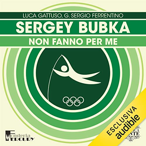 『Sergey Bubka. Non fanno per me』のカバーアート