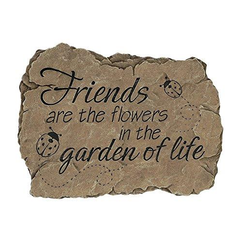 Carson Home Accents CHA12995 Garden Stone Garden for Life (Set of 1)