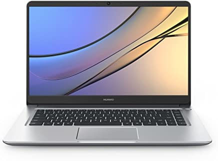 "Huawei MateBook D 15.6"" Full HD IPS Notebook Computer, Intel Core i7-8550U 1.8 GHz, 16GB RAM, 256GB SSD + 1TB HDD, NVIDIA GeForce MX150 2GB, Windows 10 (53010BLA)"