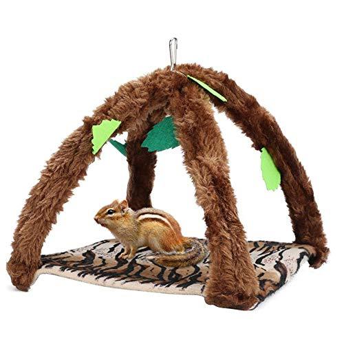 ASDFGHJKL Pet Birds Hamster/Hanging House Hanging Hammock Nap Sack Swing Bag Sleeping Bed for Ferret Rat Sugar Glider