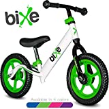 Green (4LBS) Aluminum Balance Bike for Kids and Toddlers - 12' No Pedal Sport Training Bicycle for Children Ages 3,4,5