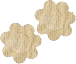 Braza Petal Top Disposable Nipple Covers   15 Pair, Beige, One Size