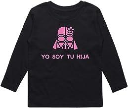 Camiseta niño Yo Soy tu Hija. Fan Art Parodia Yo Soy tu Padre. Bebé Friki. Manga Larga.