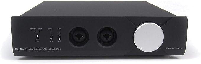 Musical Fidelity: MX-HPA Headphone Amplifier - Black