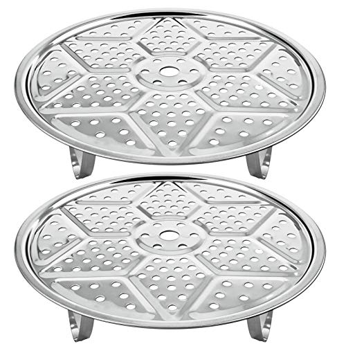 11-Inch Pressure Cooker Canner Rack (2-Pack) Detachable Legs Canning Rack for Stainless Steel Pressure Canner Rack Pot Steam Basket Rack Accessories