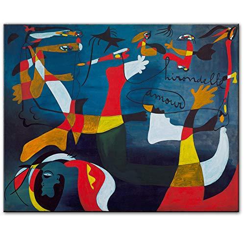 WJY Nacimiento del Mundo Pinturas en Lienzo Imprimir en